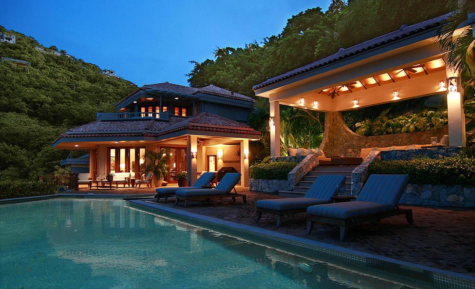 Villa Sunspot Ultra Luxury Peter Bay 4br Suite St John Vacation Als