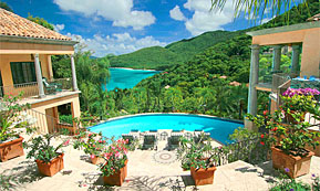 A Photograph of St. John Villas Coco de Mer